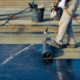 Commercial Roofers At Work