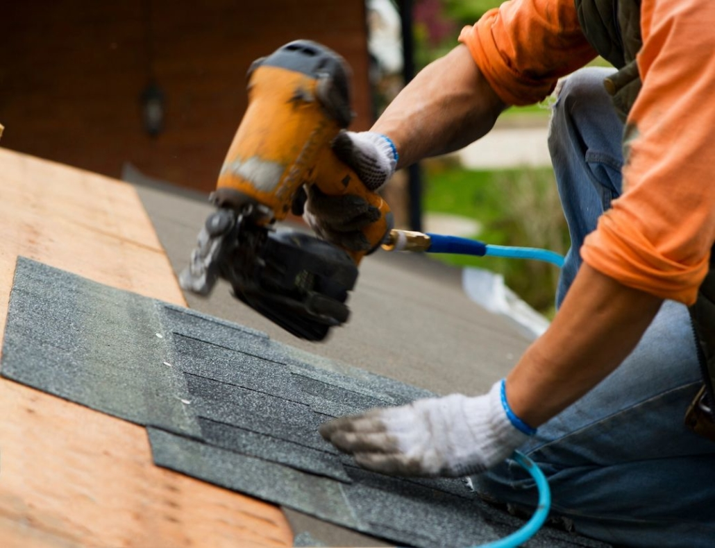 roofing damage and repair